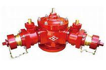双口給水消火栓(120°型)