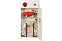 補助散水栓ツインローラー型(消火器横置)